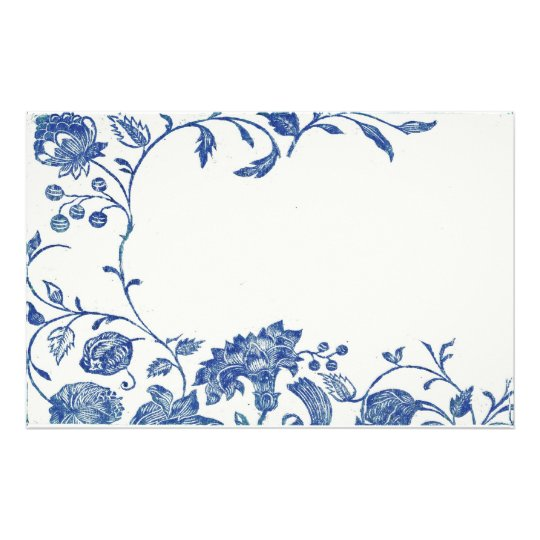 Delft Blue Stationery Zazzle Com
