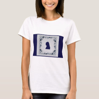 Delft blue tile Girl with a Pearl Earring T-Shirt