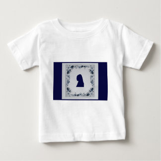 Delft blue tile Girl with a Pearl Earring Tee Shirt