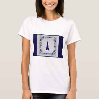 Delft blue tile New Church in Delft T-Shirt