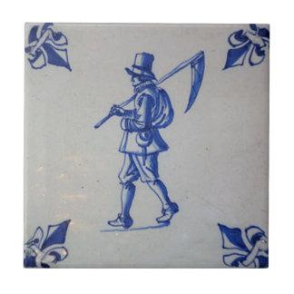 Delft Blue Tile - Template