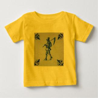 Delft Blue Tile - Template Baby T-Shirt