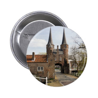 Delft, canals and city gateway buttons