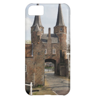 Delft, canals and city gateway cover for iPhone 5C