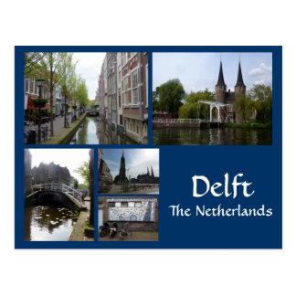 Delft Collage Postcard