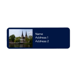 Delft Gate (Oostpoort) Label