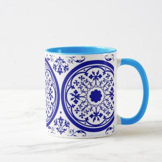 Delft Inspired  Art Coffee Mug
