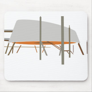 Delft Library Mouse Pad