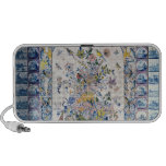 Delft tile panel from the bathroom PC speakers