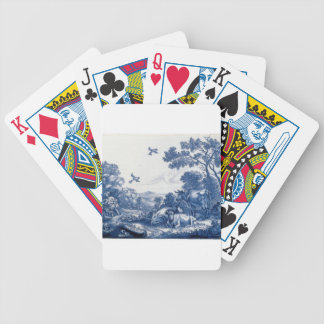 Delftware Bicycle Playing Cards