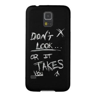Delgado: No parezca blanco en negro Carcasa De Galaxy S5