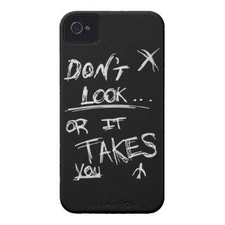 Delgado: No parezca blanco en negro iPhone 4 Protectores