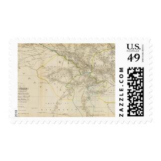 Delhi, Agrah, Oude, Ellahabad south Postage