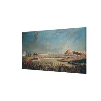 Delhi Durbar Canvas Print