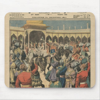Delhi Durbar, illustration from 'Le Petit Mouse Pads