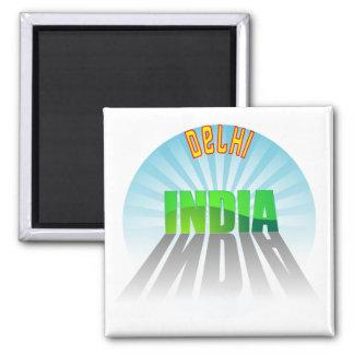 Delhi Imán Cuadrado
