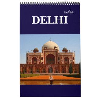 delhi india calendar