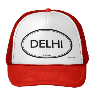 Delhi, India Trucker Hat