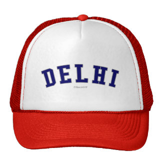 Delhi Trucker Hat