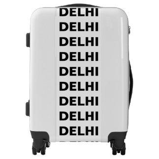 DELHI, Typo black Luggage