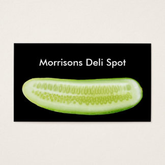 Deli Restaurant Business Cards