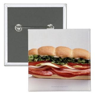 Deli sandwich 2 inch square button