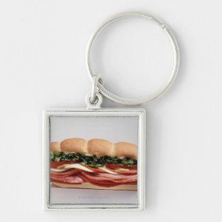 Deli sandwich keychain