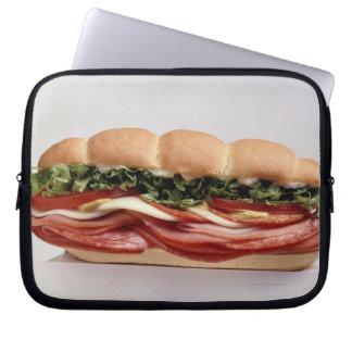 Deli sandwich laptop sleeve