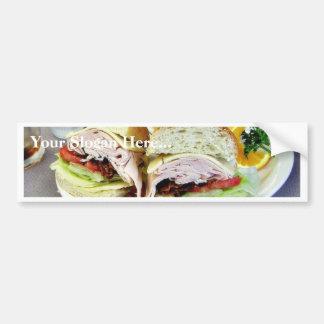 Deli Sandwiches Bumper Sticker