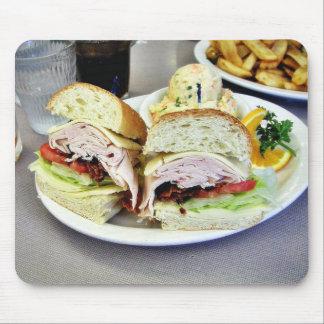 Deli Sandwiches Mouse Pad