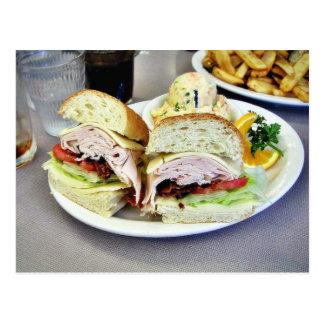 Deli Sandwiches Postcard