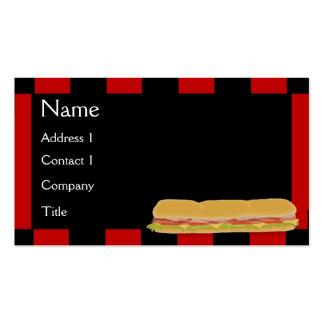 Deli Sub Business Card