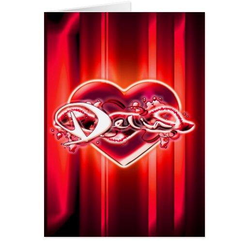 Delia Card