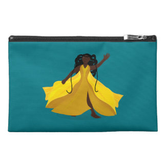 Delia in a Yellow Dress Travel Accessory Bag