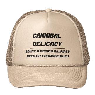 Delicadeza del caníbal gorra