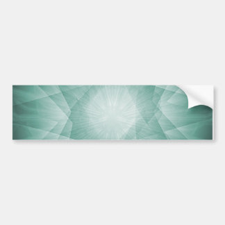 Delicate Abstract Background Bumper Sticker