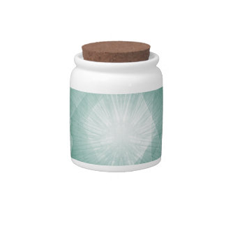 Delicate Abstract Background Candy Dishes