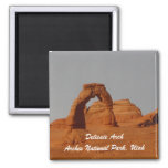 Delicate Arch 2 Inch Square Magnet