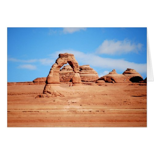 Delicate Arch, Arches National Park, Utah Card card
