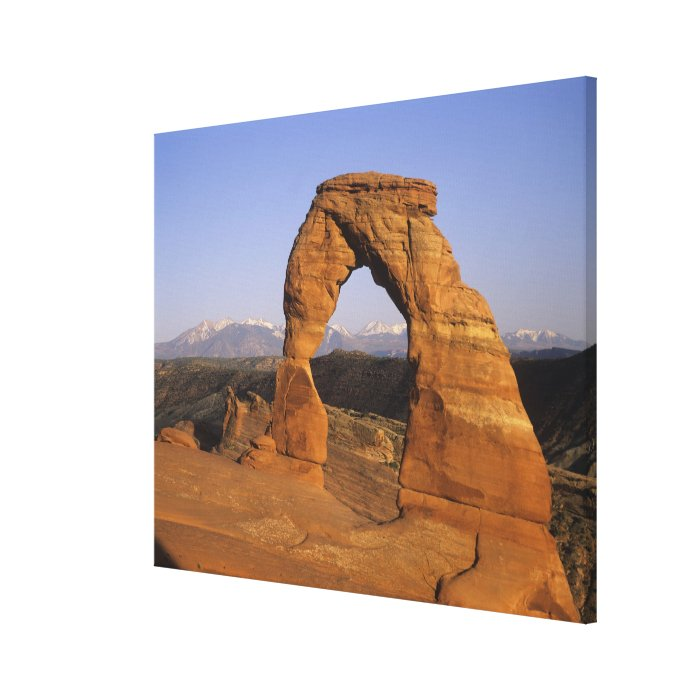 Delicate Arch, Arches National Park, Utah, USA 2 Canvas Print