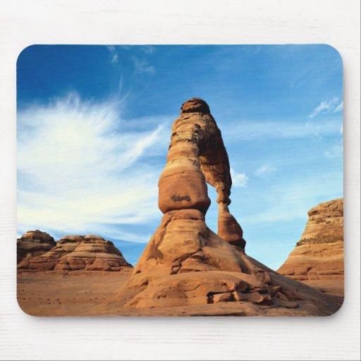 Delicate arch, Arches National Park, Utah, USA Mouse Pad