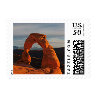 Delicate Arch, Arches National Park, Utah, USA Postage