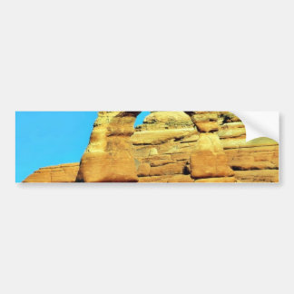 Delicate Arch At Arches National Park Bumper Stickers