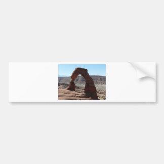 delicate arch bumper stickers