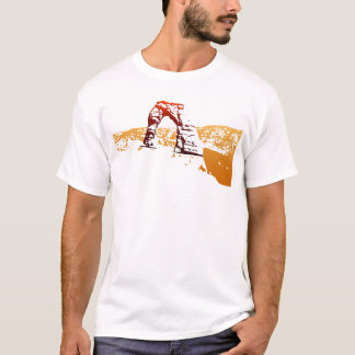 Delicate Arch Cut-out T-Shirt