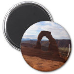 Delicate Arch I at Arches National Park Magnet