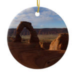 Delicate Arch II at Arches National Park Ceramic Ornament