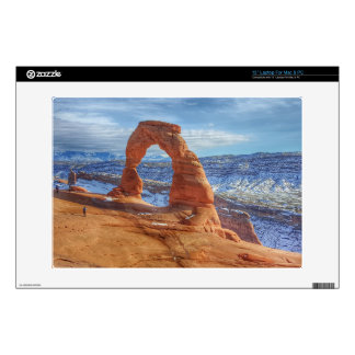 Delicate arch in Utah Arches National Park Laptop Decal