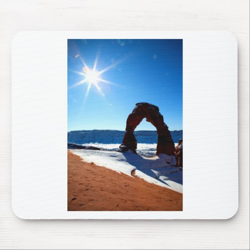 Delicate arch mouse pads