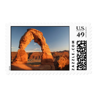 Delicate Arch Postage Stamp